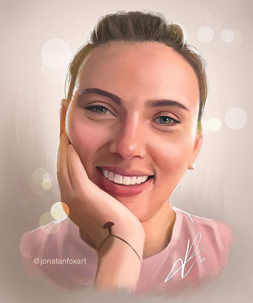 Scarlett Johansson por JonatanFox